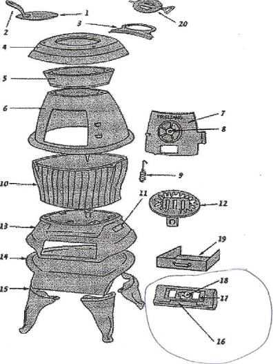 Cast Iron Cook Stoves Where To Find Parts And How To Restore P3