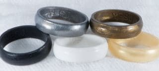 Non Conductive Wedding Rings For Electricians