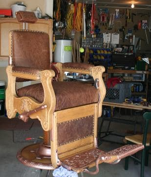 barber chair restoration q a s and successes
