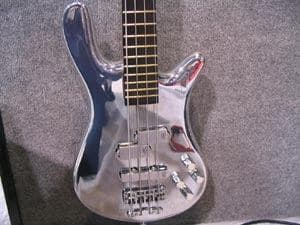 several guitar companies have released chrome painted guitars and to. Black Bedroom Furniture Sets. Home Design Ideas