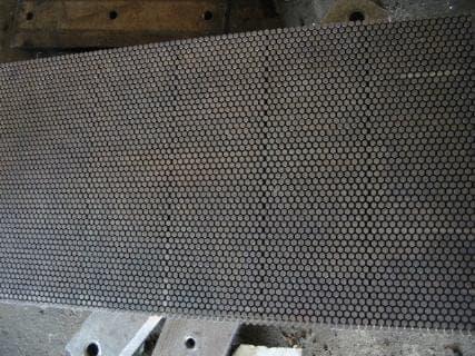 Nickel/Teflon coating helps mold release?