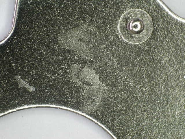 Nickel Plating Defect White Patches