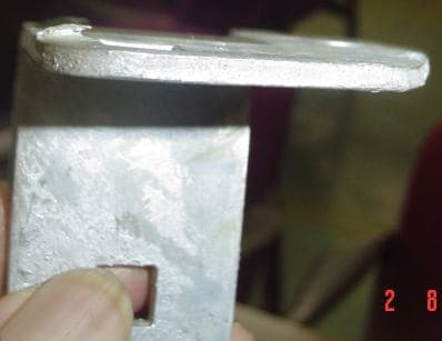 Rough And Lumpy Finish On Galvanized Parts