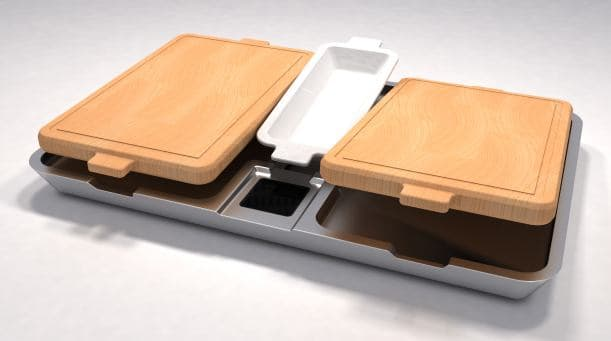 Aluminium Finish Required To Protect New Kitchen Product Design From Food Stuff Acids
