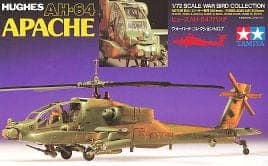 plastic scale model helicopter