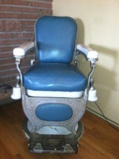 Koch barber chair