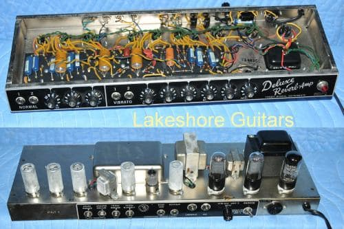 What nickel plating process was used on 1966 Fender amplifier?