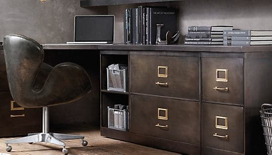Innovative Library Modular System With 3Drawer File Cabinet Amp Open Cubby Cabinet